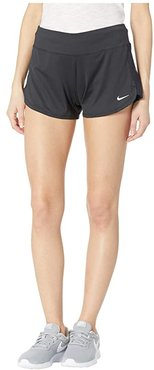 Solid Shorts Cover-Up (Black) Women's Swimwear