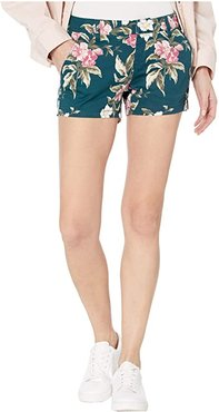 Frochickie Shorts (Emerald Green) Women's Shorts