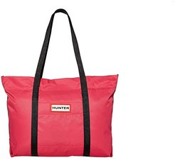 Nylon Tote (Bright Pink) Tote Handbags