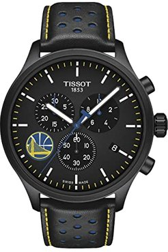 Chrono XL NBA Golden State Warriors Championship Edition - T1166173605102 (Black/Black/Blue) Watches