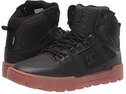 Pure High-Top WR Boot (Black/Gum) Men's Lace-up Boots