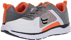 CloudWalker (White/Dark Grey/Orange) Men's Shoes