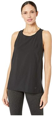 Contenta Sleeveless Top (Black) Women's Sleeveless