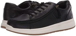 Comfort Leather Lo (Black/White) Women's Shoes