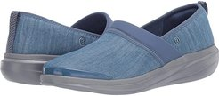 Coco (Washed Denim) Women's Slip on  Shoes