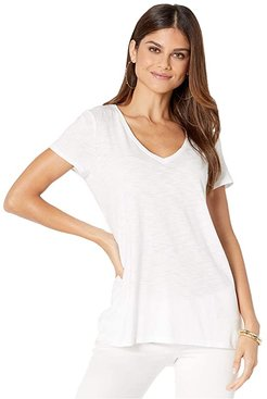 Etta Top (Resort White) Women's Clothing
