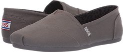 Bobs Plush - Peace and Love (Dark Gray) Women's Shoes