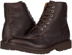 Lace-Up Boot (Brown) Men's Shoes