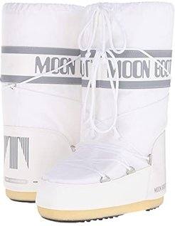 Moon Boot(r) Nylon (White) Cold Weather Boots