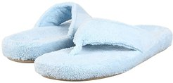 New Spa Thong (Powder Blue Fabric) Women's Slippers