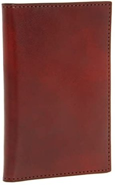Old Leather Collection - 8 Pocket Credit Card Case (Cognac Leather) Wallet