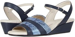 Marostica (Navy Parmasoft/Blue Animal Suede) Women's Shoes