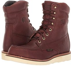 8 WP Moc Toe Lace-Up (Haystack) Men's Work Lace-up Boots