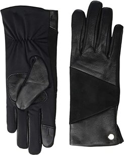 Leather Block Superfit Gloves (Black) Extreme Cold Weather Gloves