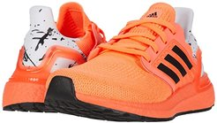 UltraBOOST 20 (Big Kid) (Signal Coral/Black/White) Kid's Shoes