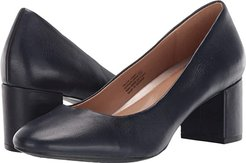 Eye Candy (Navy Leather) Women's Shoes