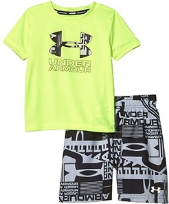Delayed Volley Set (Little Kids/Big Kids) (X-Ray) Boy's Swimwear Sets