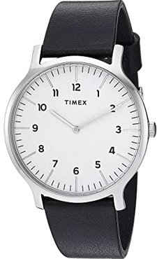 40 mm Norway 3-Hand (Silver/White/Black) Watches