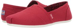 Bobs Plush - Peace and Love (Dark Red) Women's Shoes