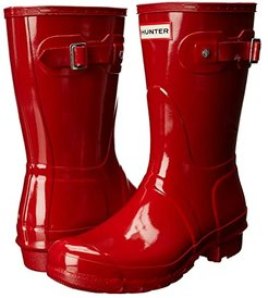 Original Short Gloss (Military Red) Women's Rain Boots