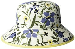 Florence (White Floral) Caps