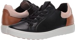 Soft 7 Street Sneaker (Black/Rose Dust/Lion Cow Leather/Cow Leather/Cow Nubuck) Women's Shoes