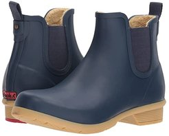 Bainbridge Chelsea Ankle Boot (Navy) Women's Rain Boots