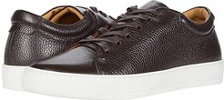 Leather Tennis Sneaker (Brown) Men's Tennis Shoes