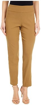 Pull-On Ankle Pants (Camel) Women's Dress Pants