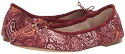 Felicia (Spiced Multi Badlands Patchwork Paisley Fabric) Women's Flat Shoes