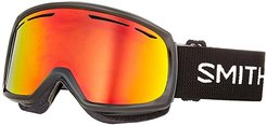 Drift Goggle (Black/Red Sol-X Mirror/Extra Lens Not Included) Snow Goggles