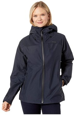 Swiftwater Rain Jacket (Deep Navy) Women's Clothing