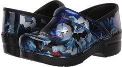 Professional (Graphic Floral) Women's Clog Shoes