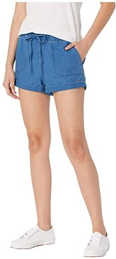 Sunday Strut Shorts (Air Force Blue) Women's Shorts