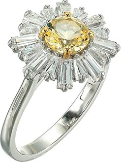 Sunshine Ring (Yellow/Rhodium Plating) Ring