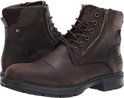 Self Made Ryker (Brown Leather) Men's Lace-up Boots