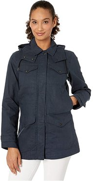 Lightweight Moorcroft Jacket (Deep Navy) Women's Coat