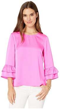 Christie Top (Mandevilla Pink) Women's Clothing