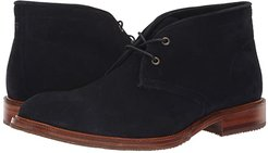 Landers (Navy English Suede) Men's Lace-up Boots