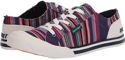 Jazzin (Purple Multi) Women's Lace up casual Shoes
