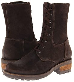 Carolina (Brown Oiled Suede) Women's Dress Boots