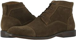 Wexford Cap Toe Chukka Boot (Tobacco Suede) Men's Shoes