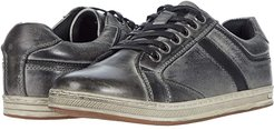 Lucas (Grey Burnished Waxy Nubuck) Men's Lace up casual Shoes