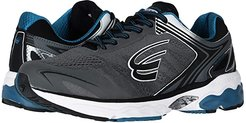 Aquarius (Charcoal/Black/Blue) Men's Shoes
