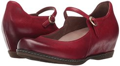Loralie (Red Burnished Nubuck) Women's  Shoes