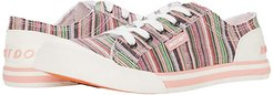 Jazzin (Pink Multi) Women's Lace up casual Shoes