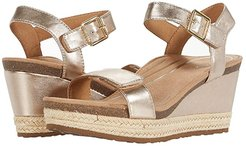 Sydney (Rose Gold) Women's Wedge Shoes