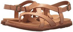 Yarbrough (Brown Full Grain Leather) Women's Sandals