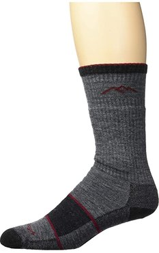 Merino Wool Boot Socks Full Cushion (Charcoal) Men's Knee High Socks Shoes