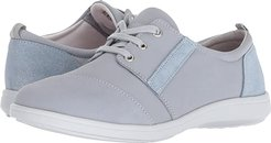 Marnie (Sky/Sparkle) Women's Lace up casual Shoes